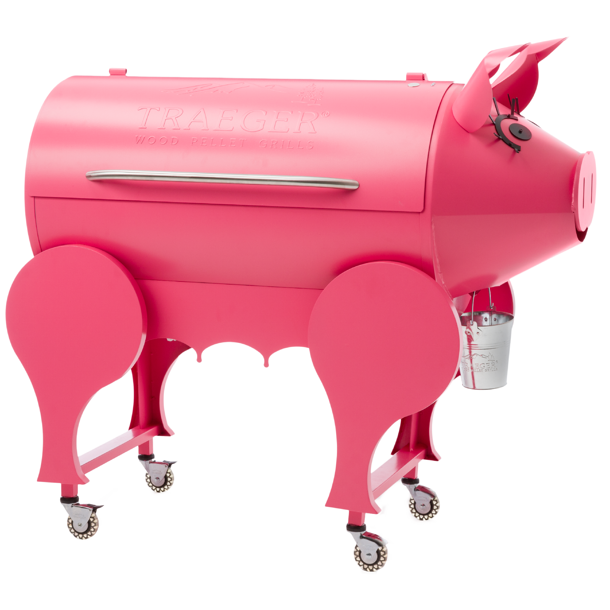 pink lil u0027 pig pellet grill traeger wood fired grills