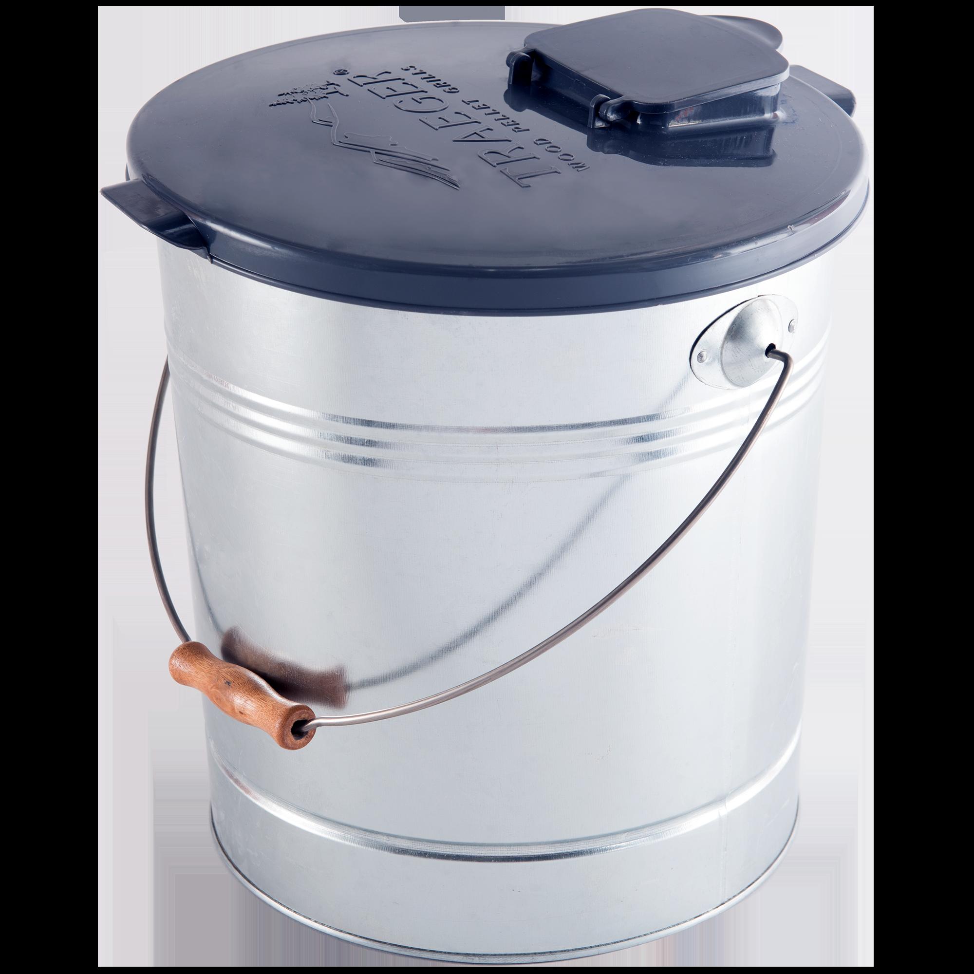 ... Pellet Storage - Metal Bucket  sc 1 st  Traeger Grills & Pellet Storage Metal Bucket | Traeger Wood Fired Grills